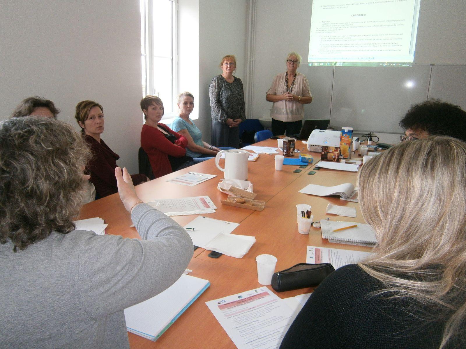 Lancement du 1er groupe de formation des Assistantes Maternelles Agréées dans le Vexin-Thelle