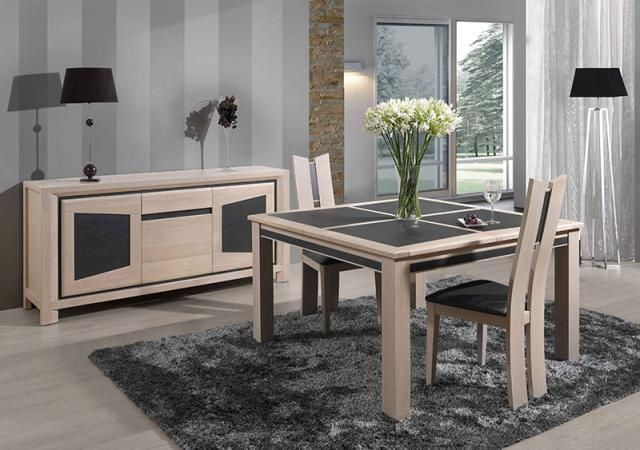 Table salle manger carree contemporaine - Table carree contemporaine ...