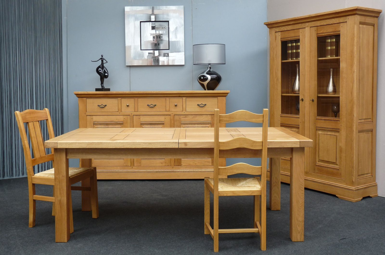 Meubles en bois massif meubles doudard vente de for Salle manger en bois