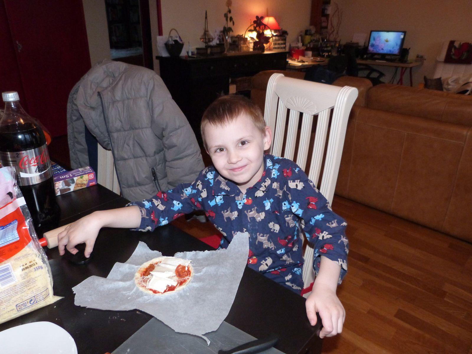 Pizza à la demande