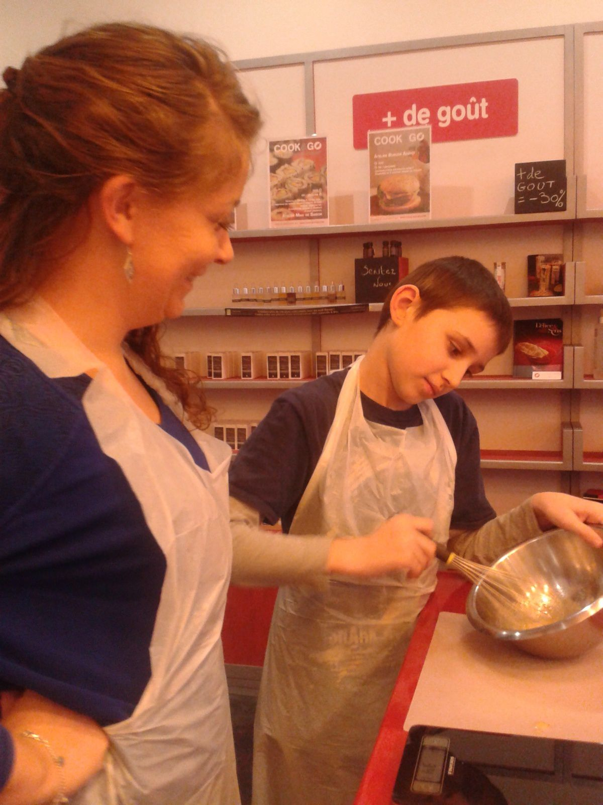 Atelier parent-enfant Cook and Go