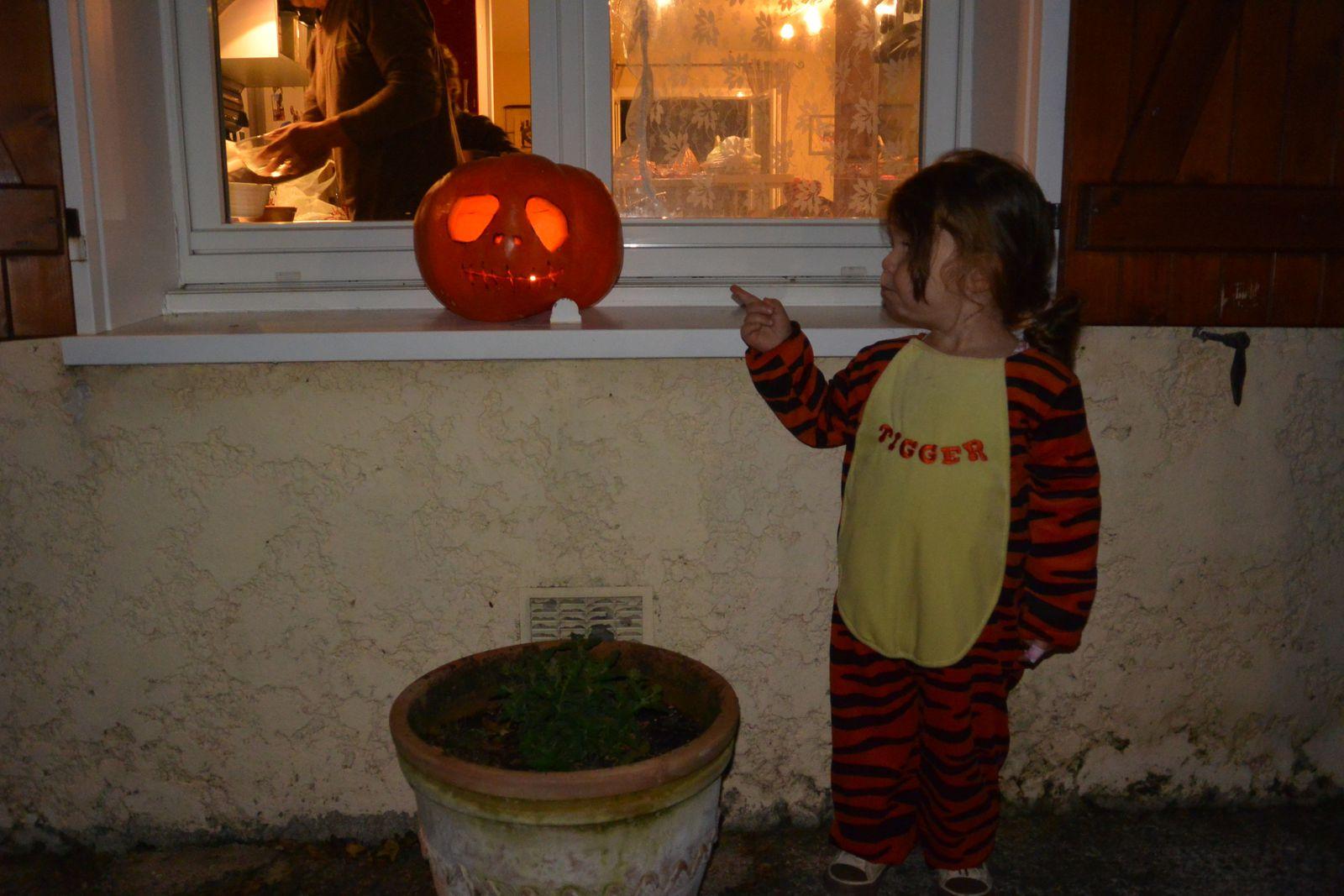 Soirée Halloween avec les cousines !