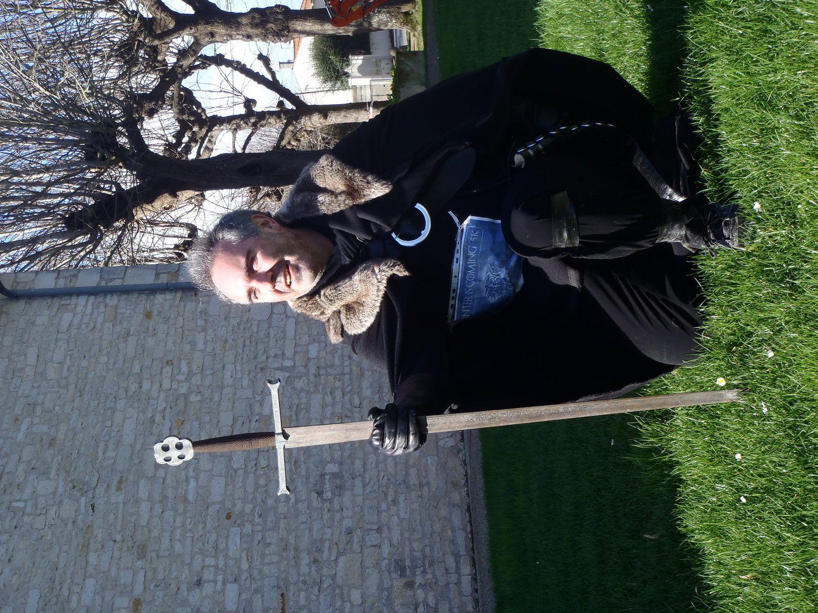 Trail de l'abbaye de Celle sur Belle et Course de Game of Thrones