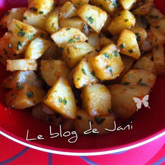 Pommes de terre &quot&#x3B;Marocaine&quot&#x3B;