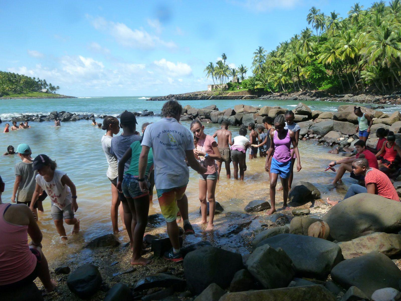Les CM2 aux Iles du Salut