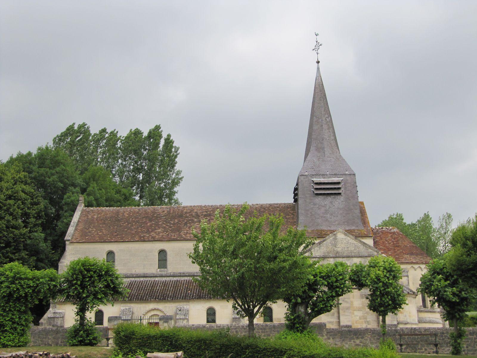Eglise de la Saint Trinité, monument historique depuis 1886.