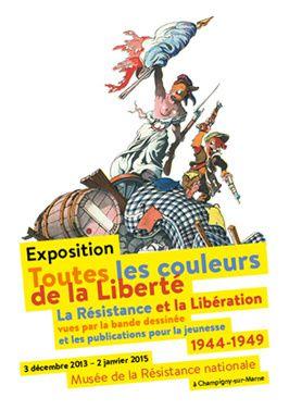 Toutes les couleurs de la Liberté, une exposition à ne pas manquer.