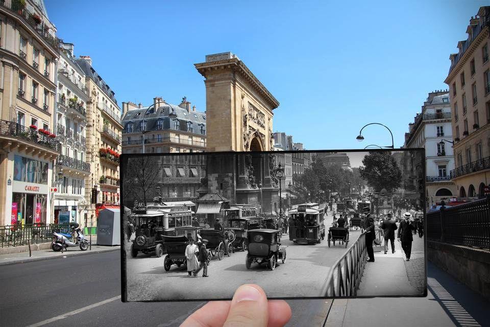 Rephotographies de Paris...