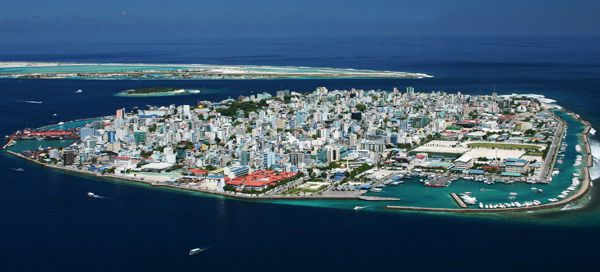 Photographie de Malé par Shahee Ilyas.