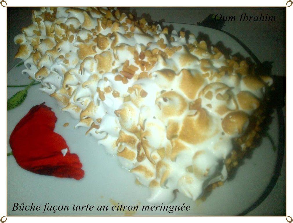 B che fa on tarte au citron meringu e la cuisine d 39 oum - Tarte au citron meringuee herve cuisine ...