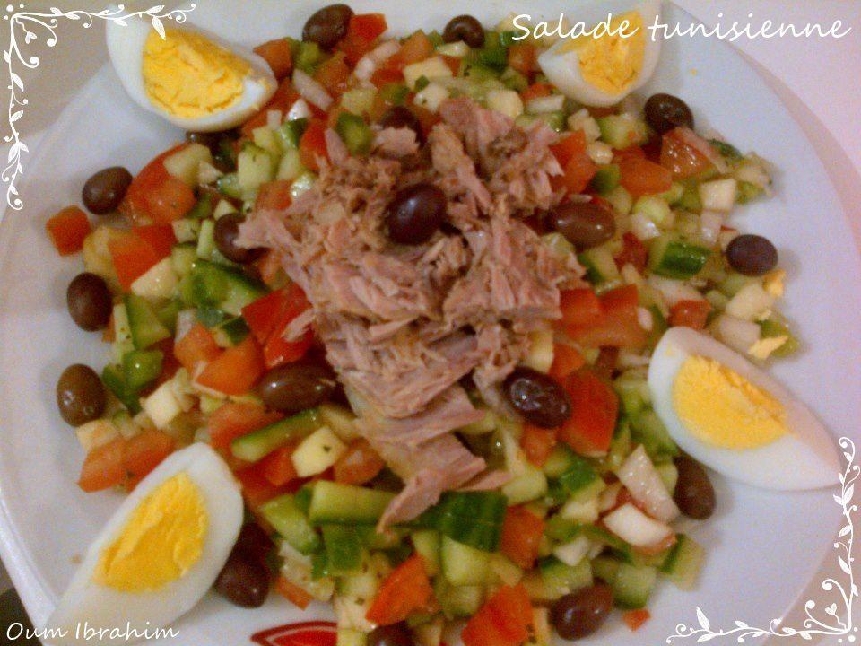 Salade tunisienne la cuisine d 39 oum ibrahim - Blog de cuisine tunisienne ...