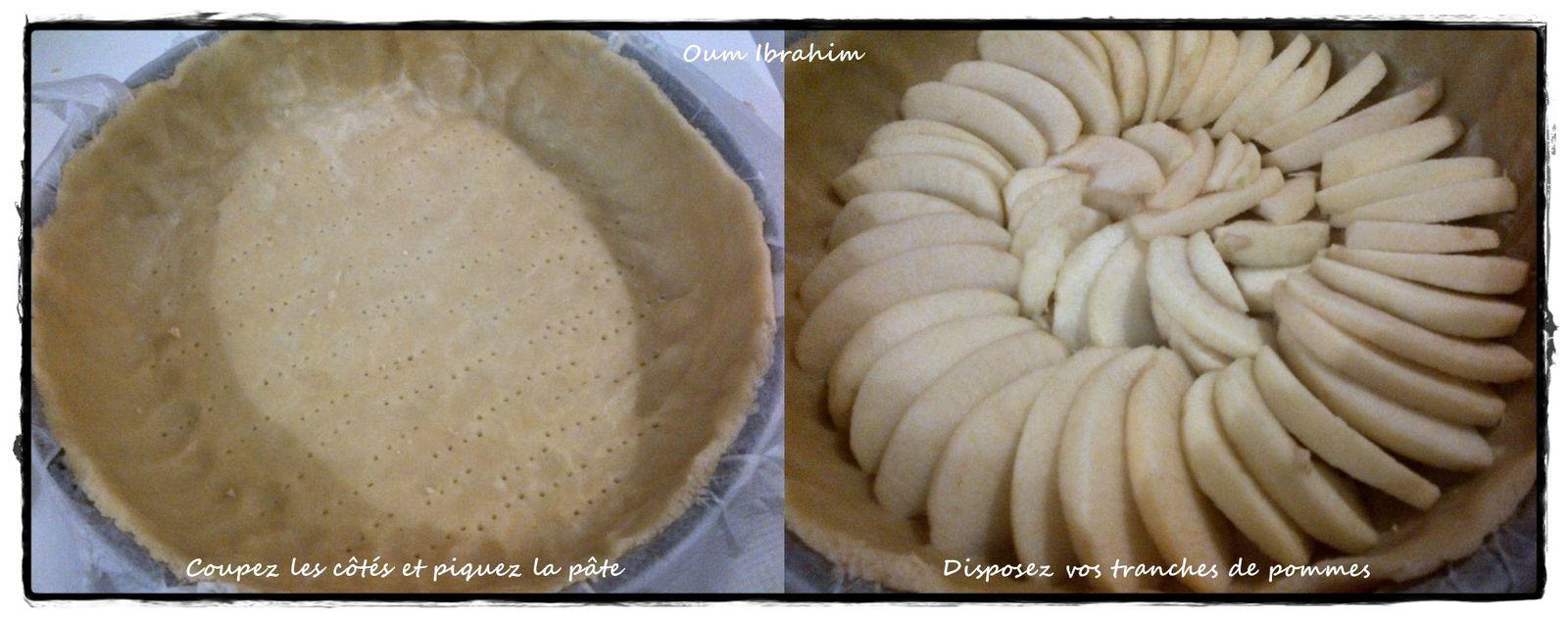 Ma Tarte Normande Pommes-Amandes
