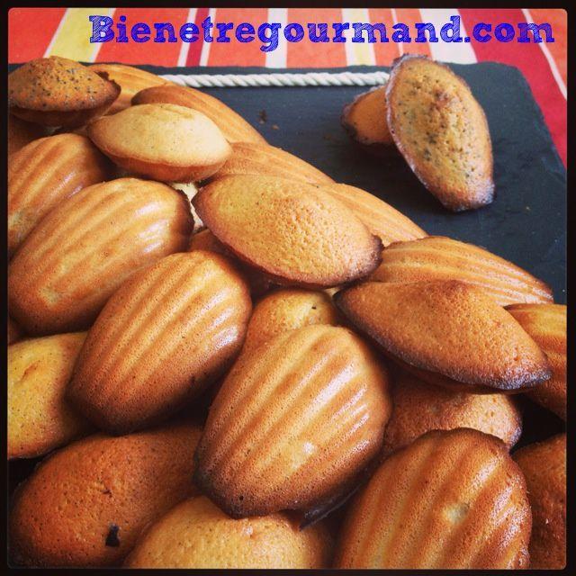 Petites madeleines moelleuses, sans beurre et au citron