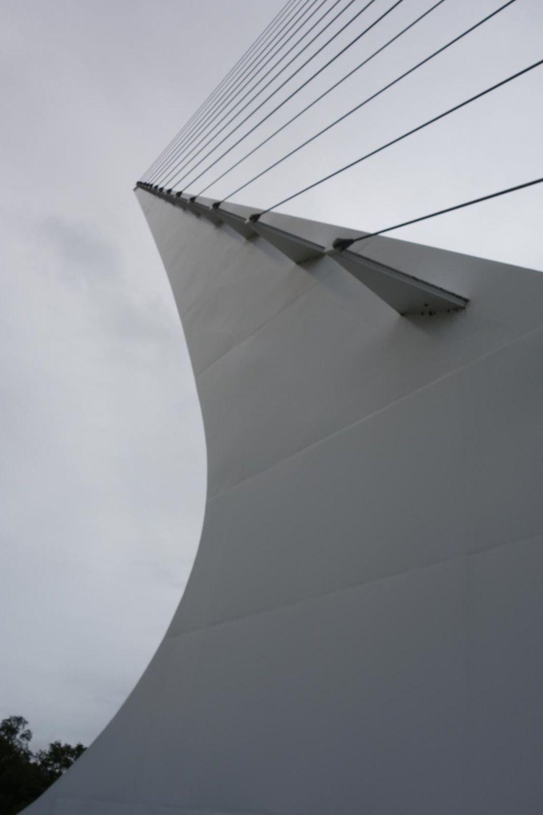 Sundial Bridge et une après midi gachée.