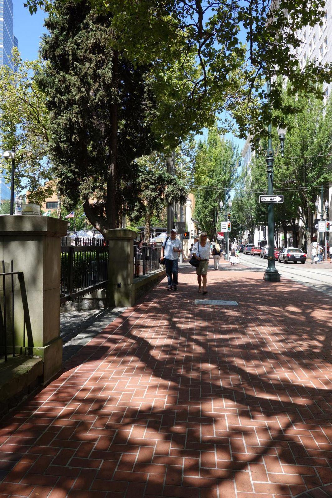 Downtown Portland et les Voodoo Donuts