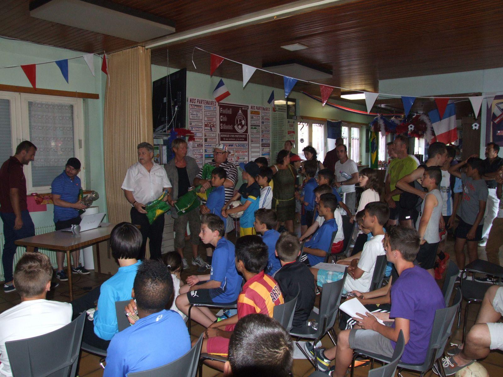 Les images des festivités familiales du FC Sélestat