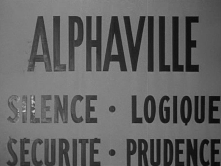 Twilight Zone (notes sur Alphaville de Jean-Luc Godard)