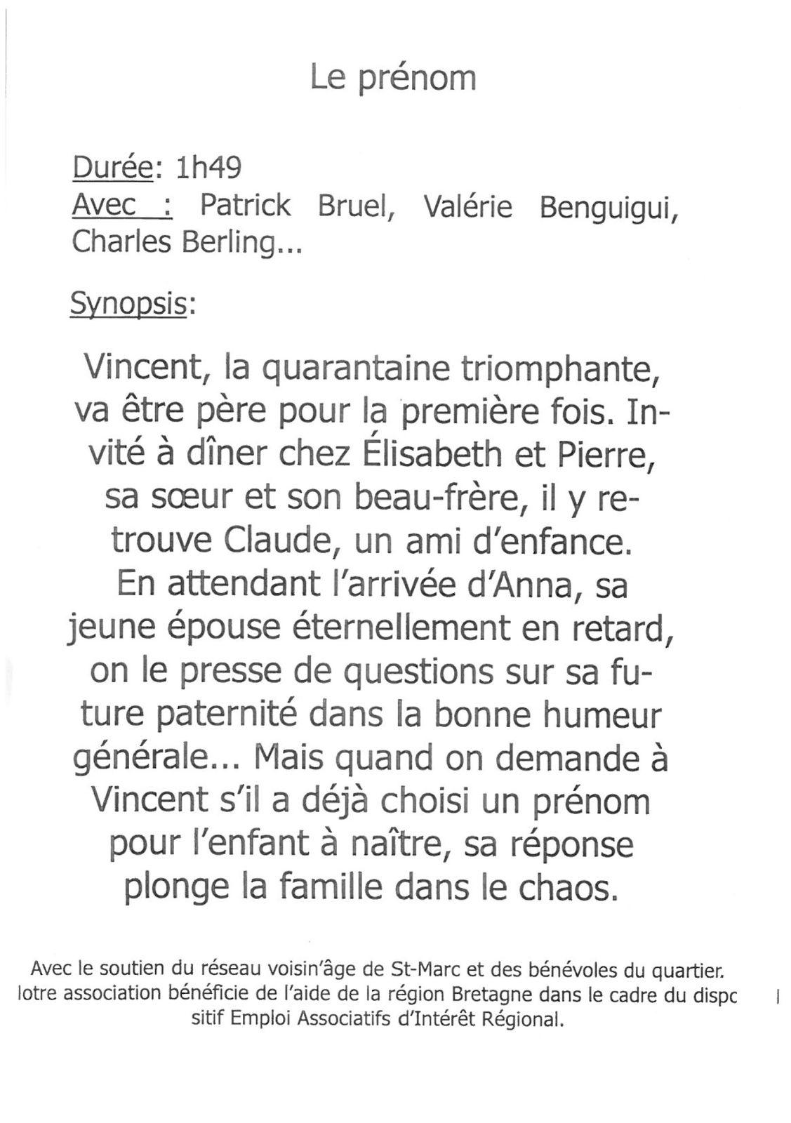 Ciné-Café Dimanche