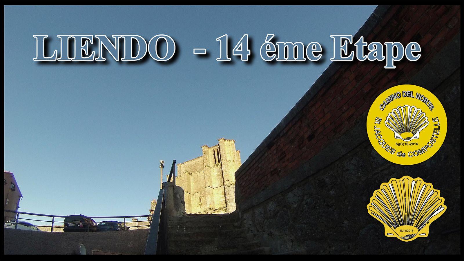 LIENDO cité pittoresque de la Côte de Cantabrie - notre 14éme Etape sur le CAMINO del NORTE