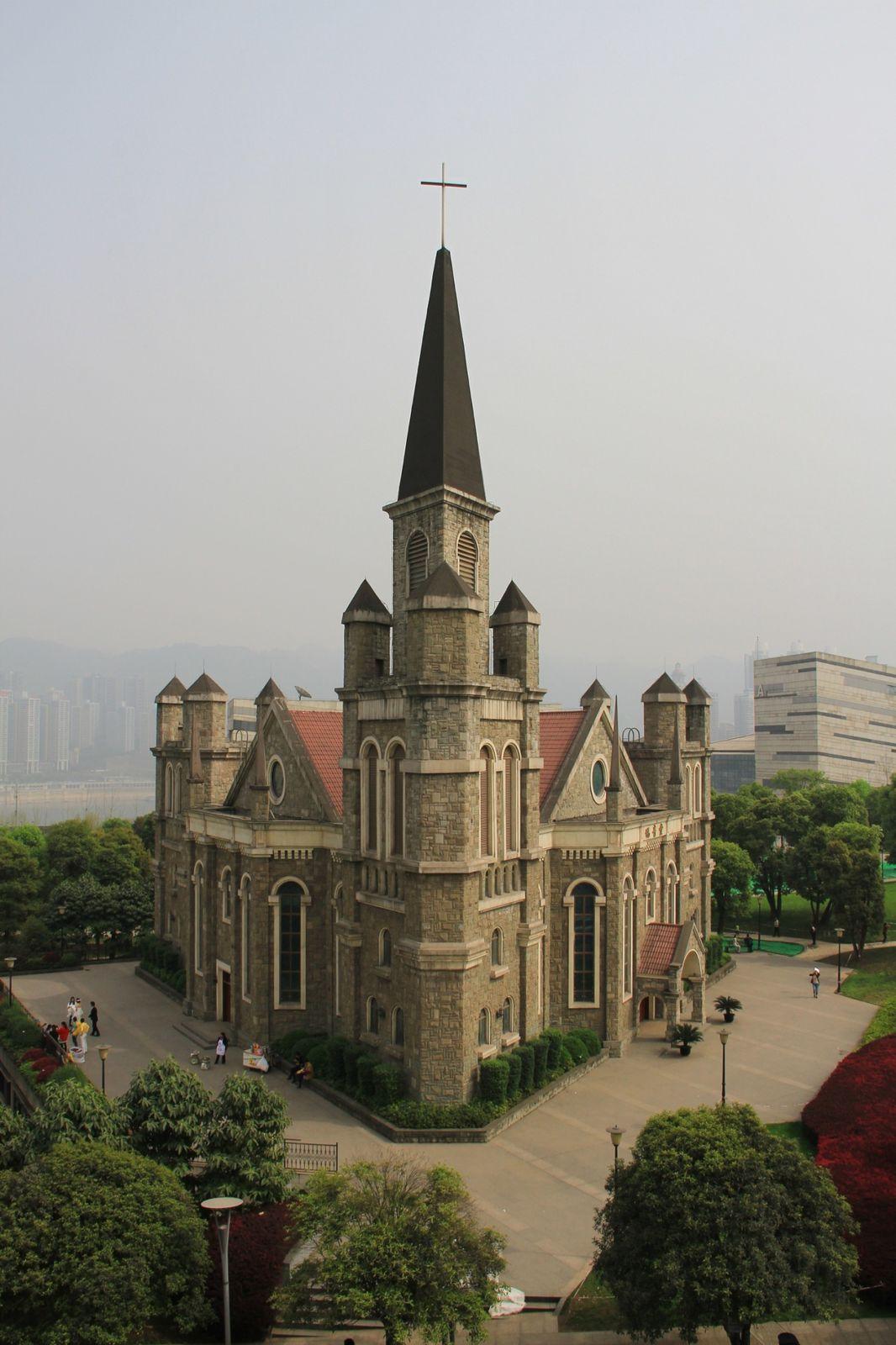 Pause à jiangbei gongyuan.
