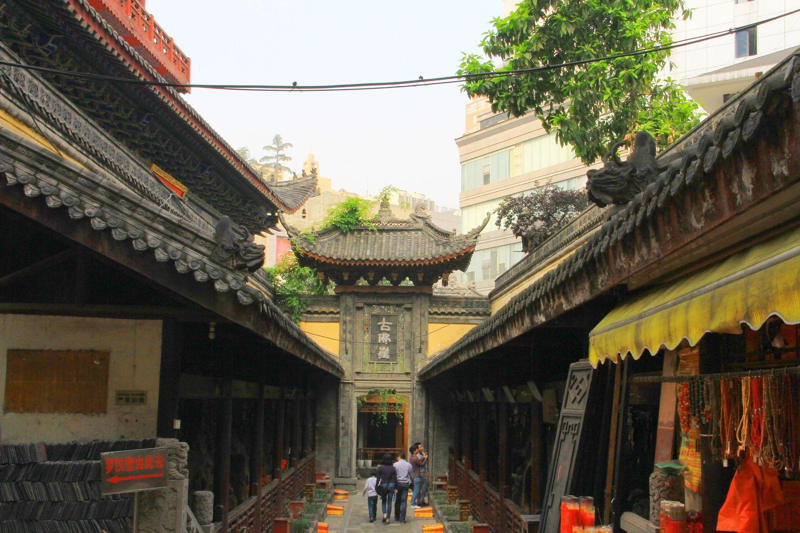 Le temple des arhats (罗汉寺).