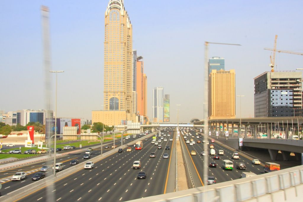 Route Sheik Zayed