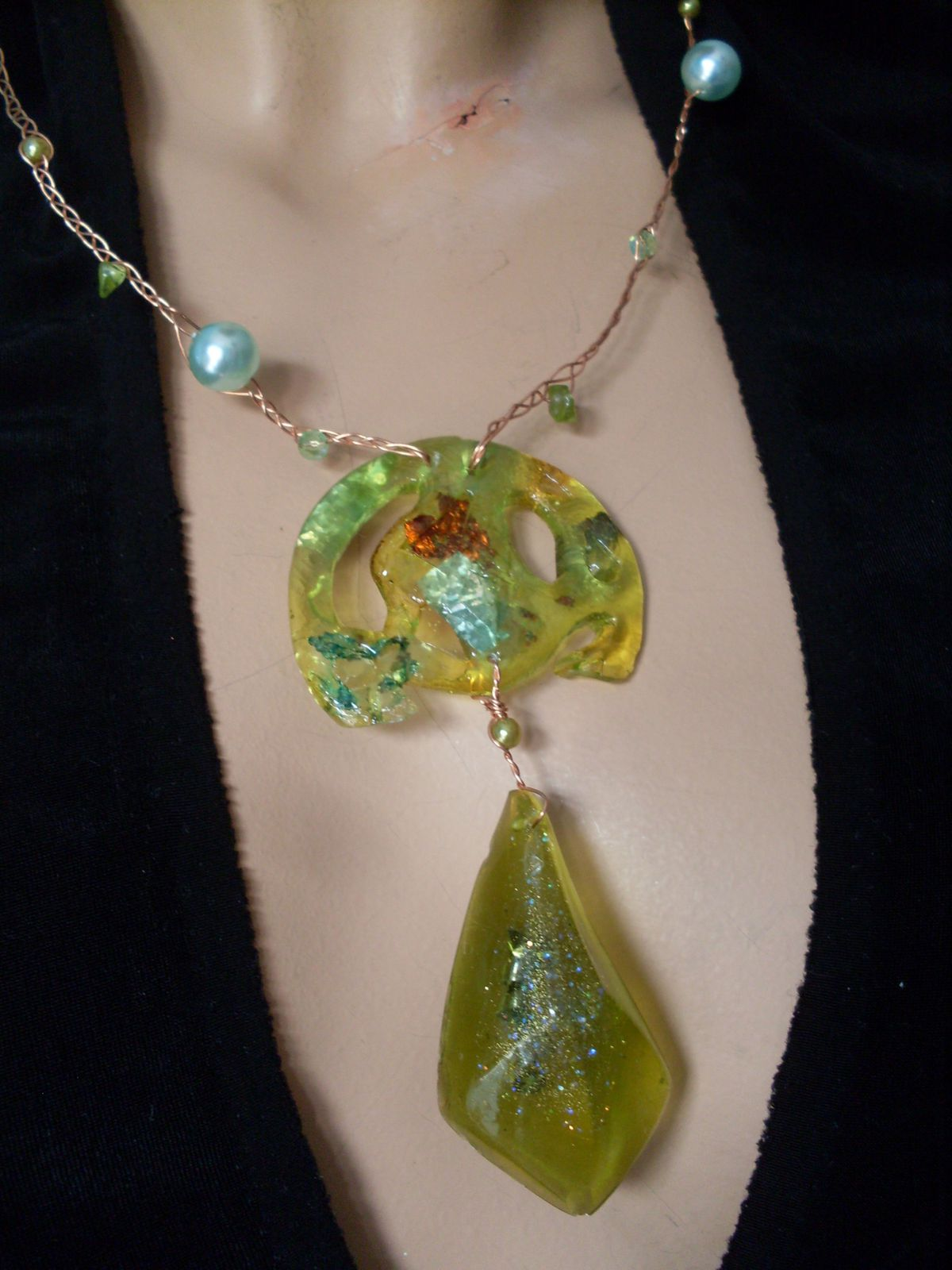 Collier Art Nouveau