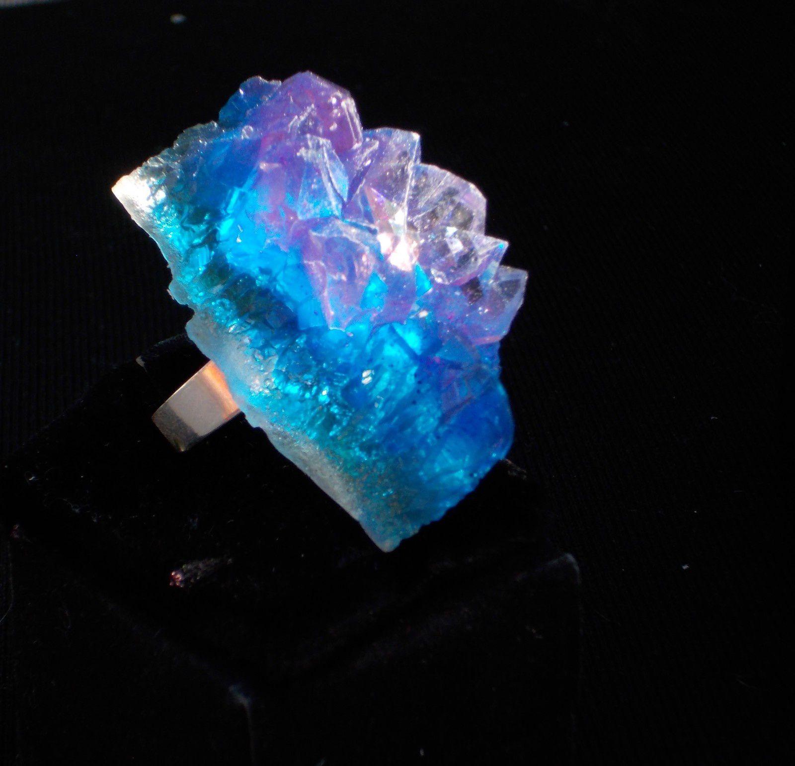 Bague féérique- Bague cristal en résine