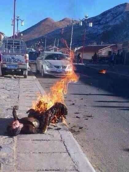 Kunchok Tseten self-immolated in Ngaba on December 3, 2013