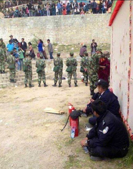 Summer opera festival in Lhasa under tight security control