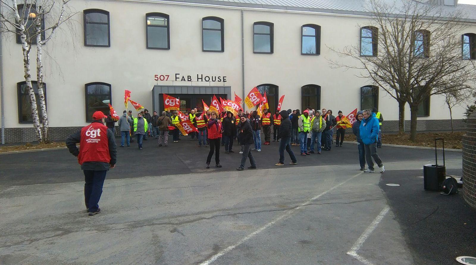 déléguées syndicales cgt la poste pic de nice