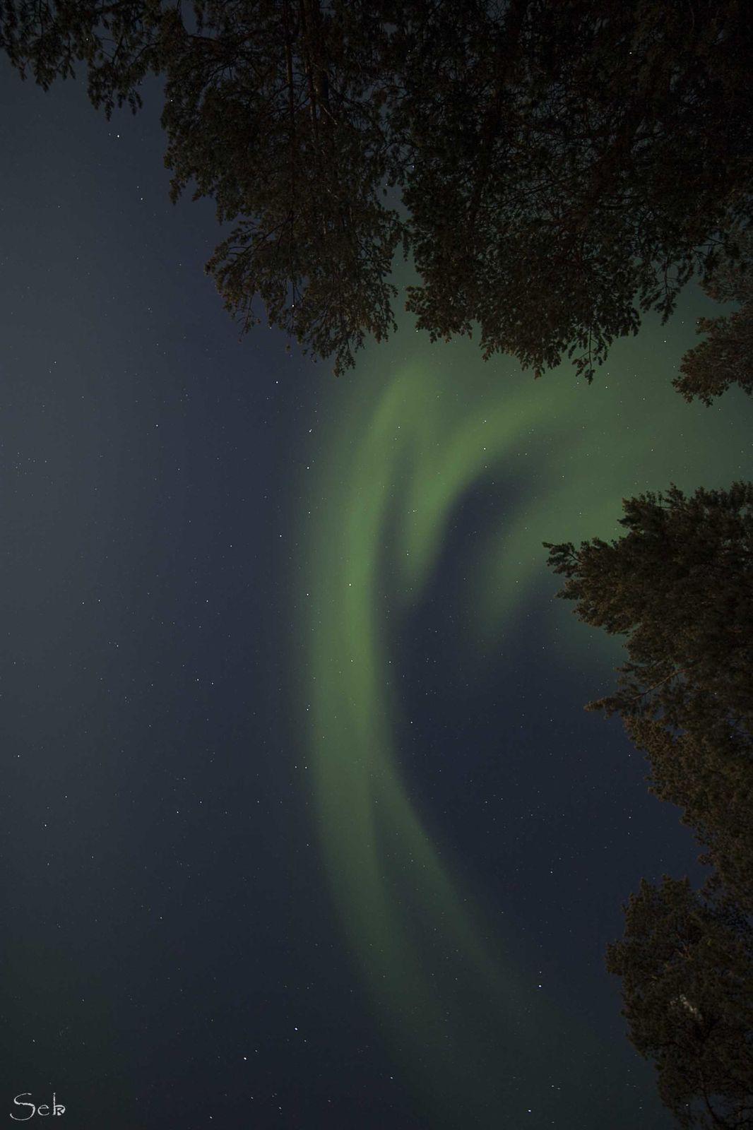 Aurores Boréales à Kiiloppää