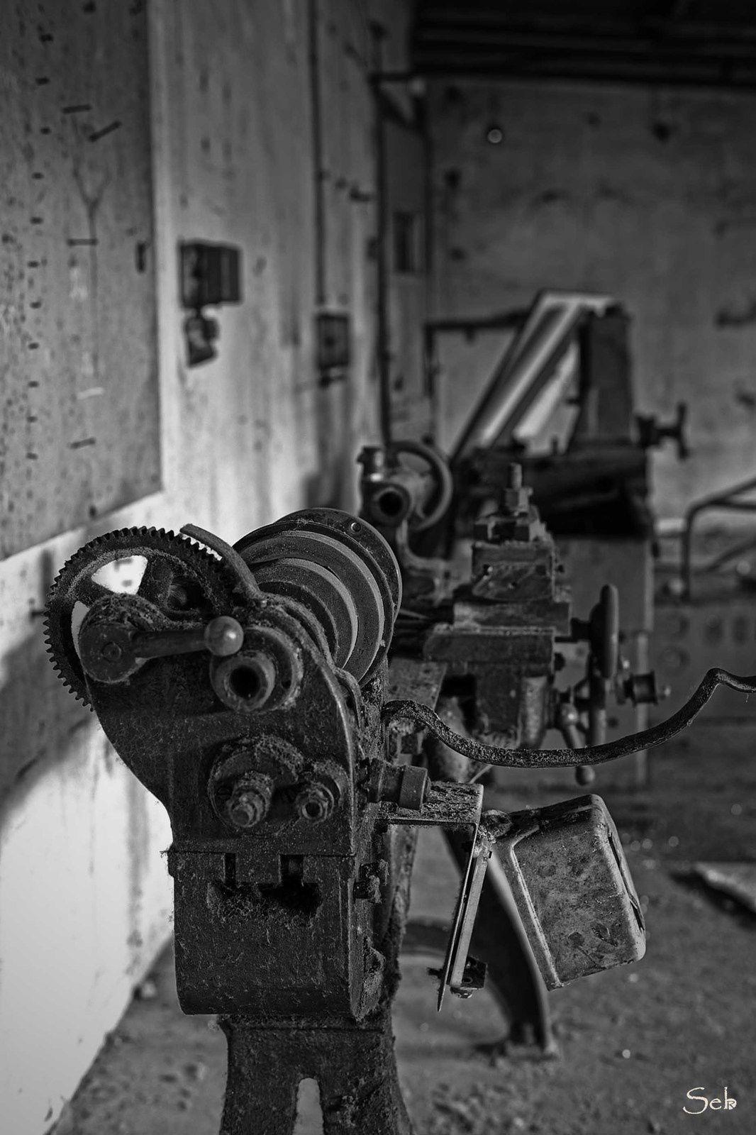 Urbex usine de meubles Alsace