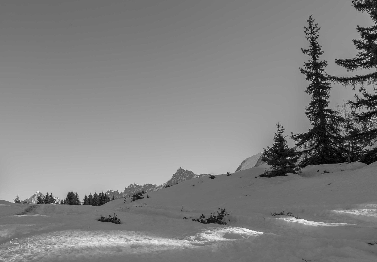 Les Houches, Prarion - Bellevue