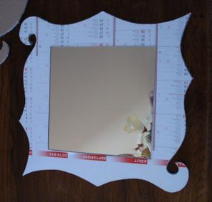miroir en carton