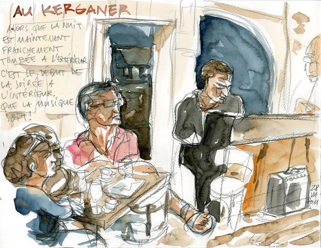 Au Kerganer apéros-jazz et jam-sessions