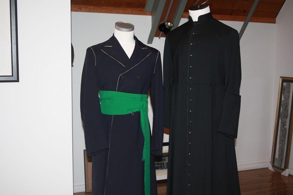 La redinguote et la soutane, costumes du Séminaire pendant plus de 100 ans. (Photo: Laurent Leblond)
