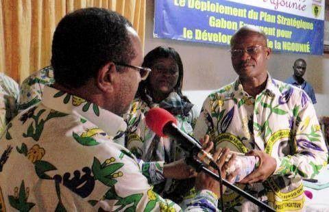 #gabon: GABON : Moukagni Iwangou recadre Guy Bertrand Mapangou le ministron de l'interieur