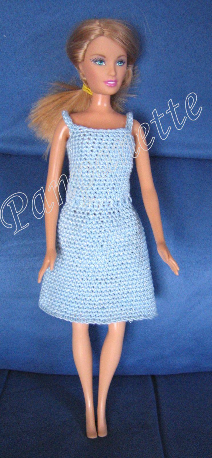 Robes de poupée Barbie