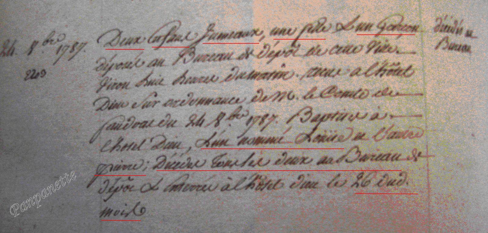 Photo prise aux Archives Départementales du Calvados