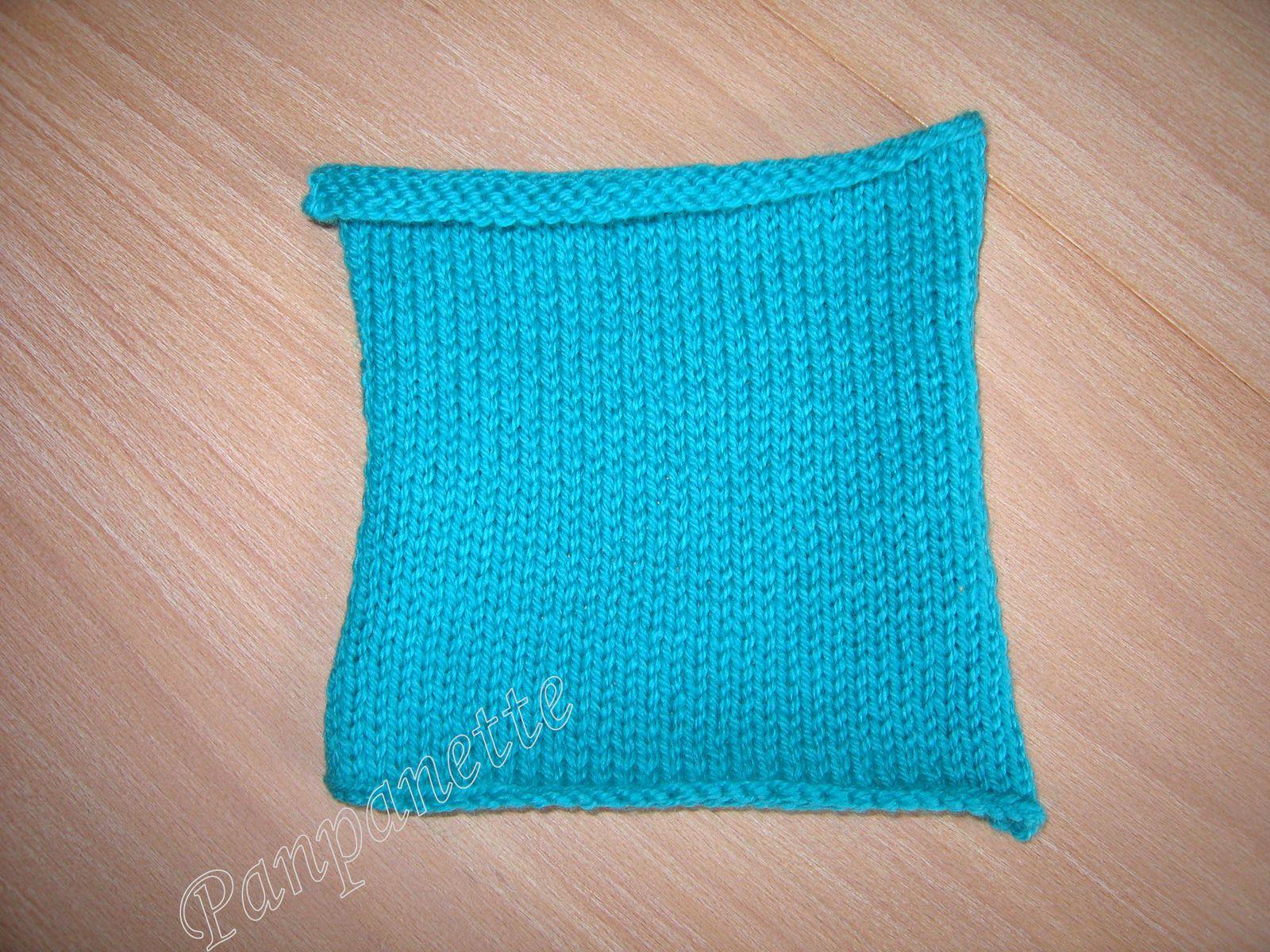 Des carrés en crochet et tricot