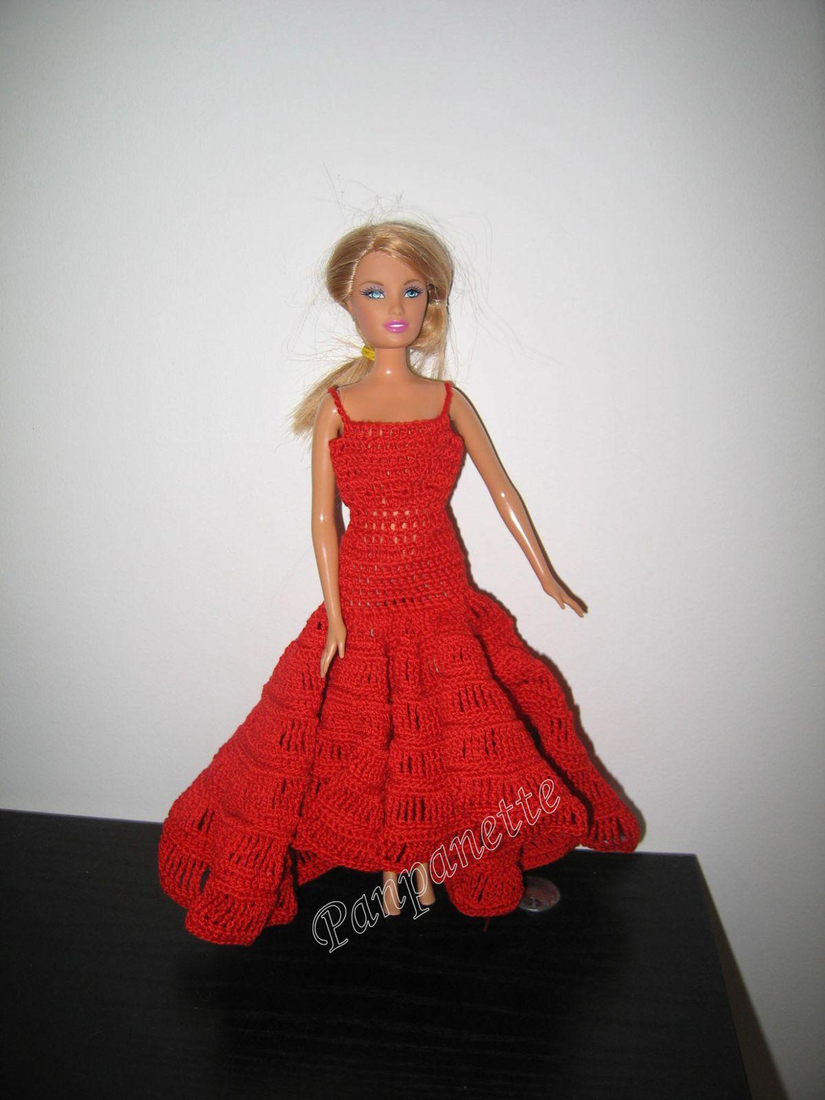 Robe de Barbie Flamenco - 1ère partie