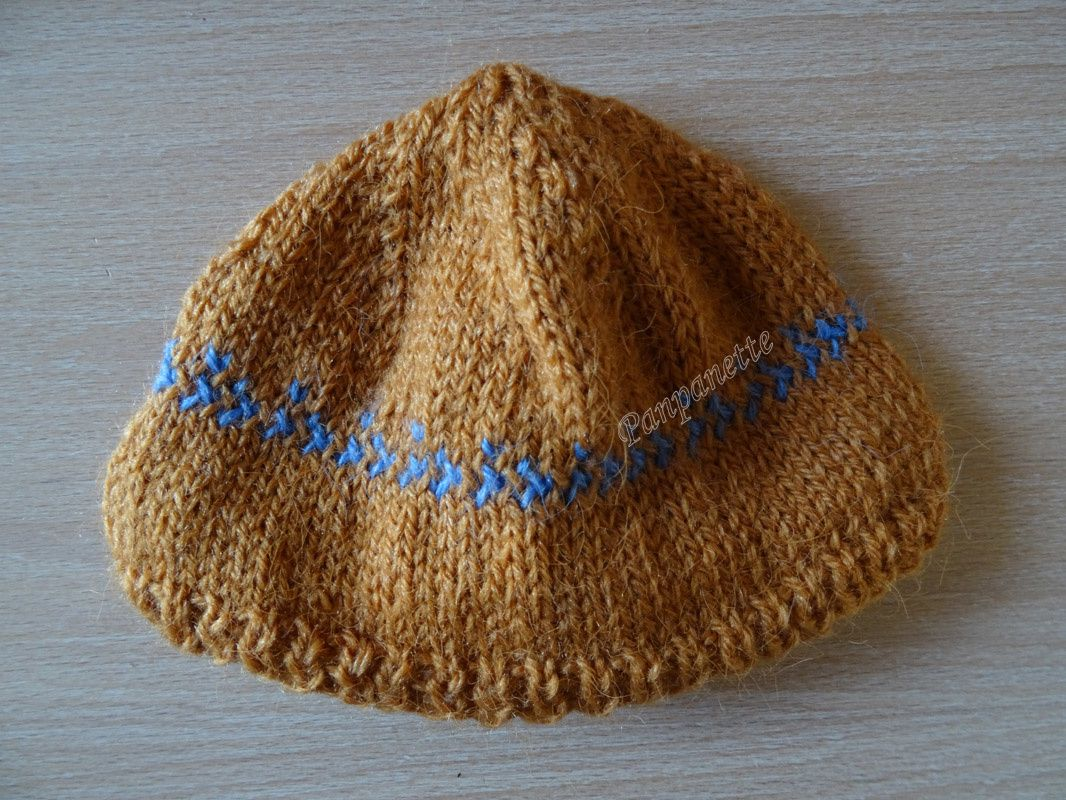 Un bonnet pour nouveau-né