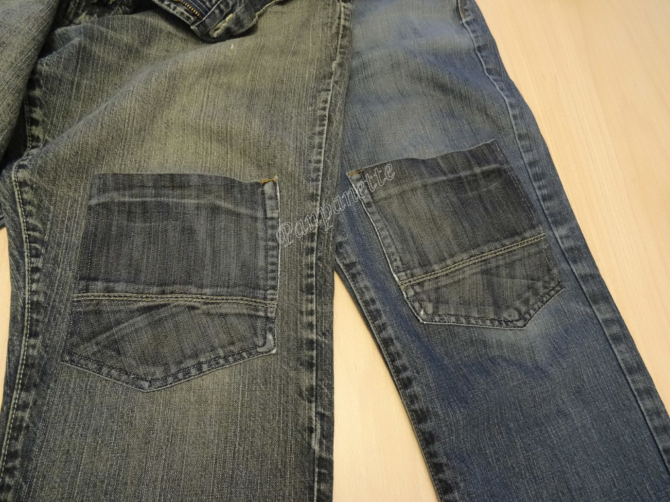 Restauration pantalons
