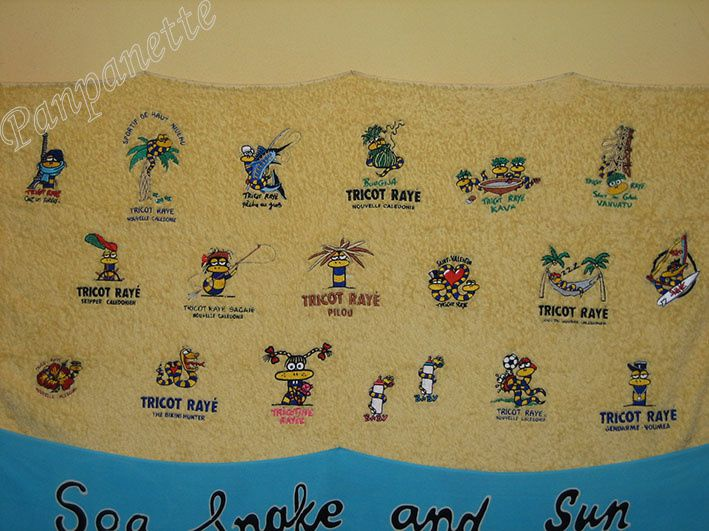 "Marque ""Tricot rayé"", carte des logos disponibles"