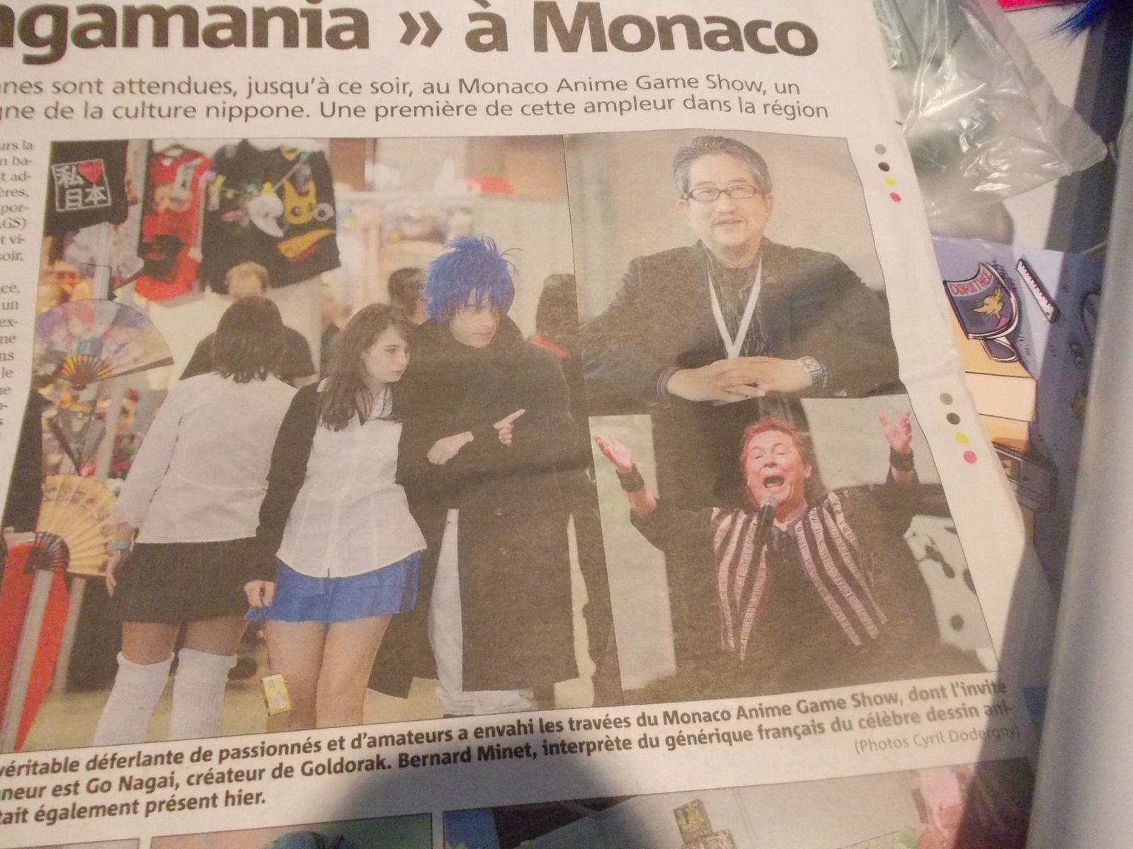 MONACO GAME SHOW DANS LE JOURNAL