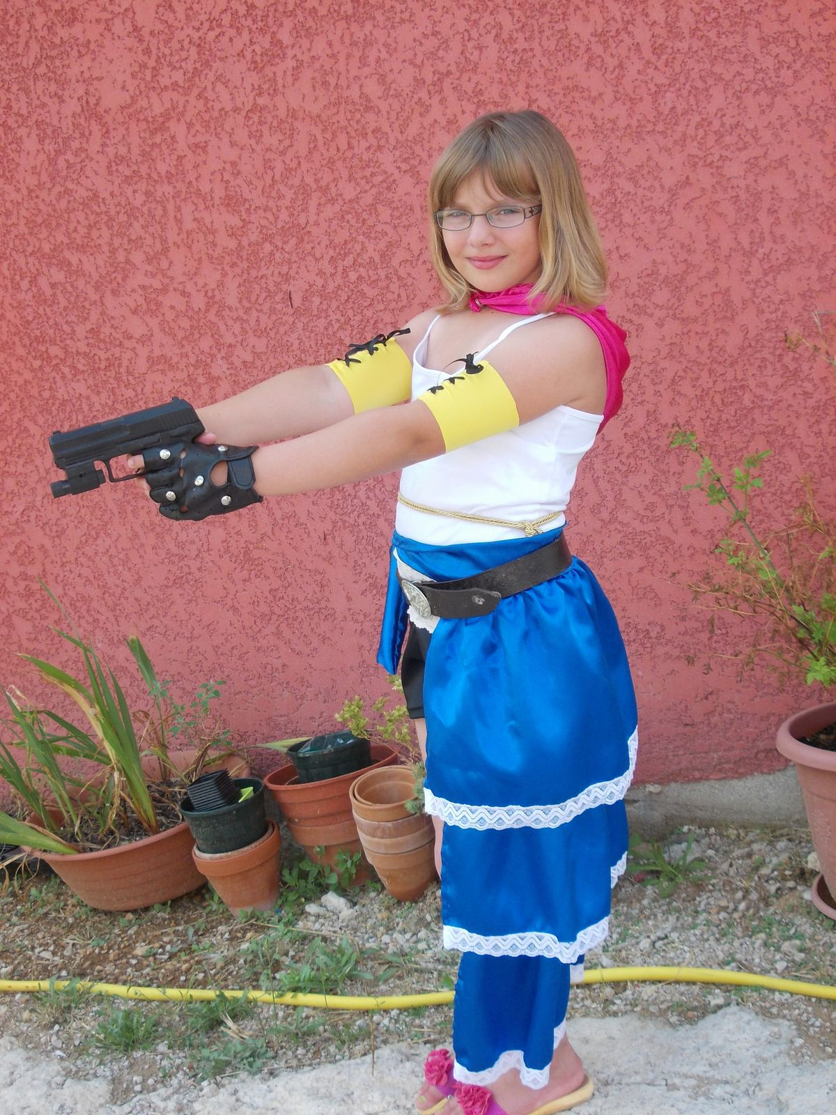 COSPLAY DE YUNA DANS FINAL FANTASY