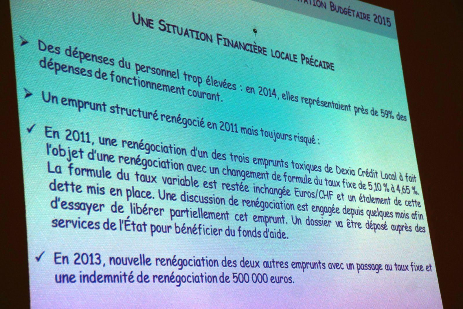 Situation des comptes administratifs de Carrières-sous-Poissy