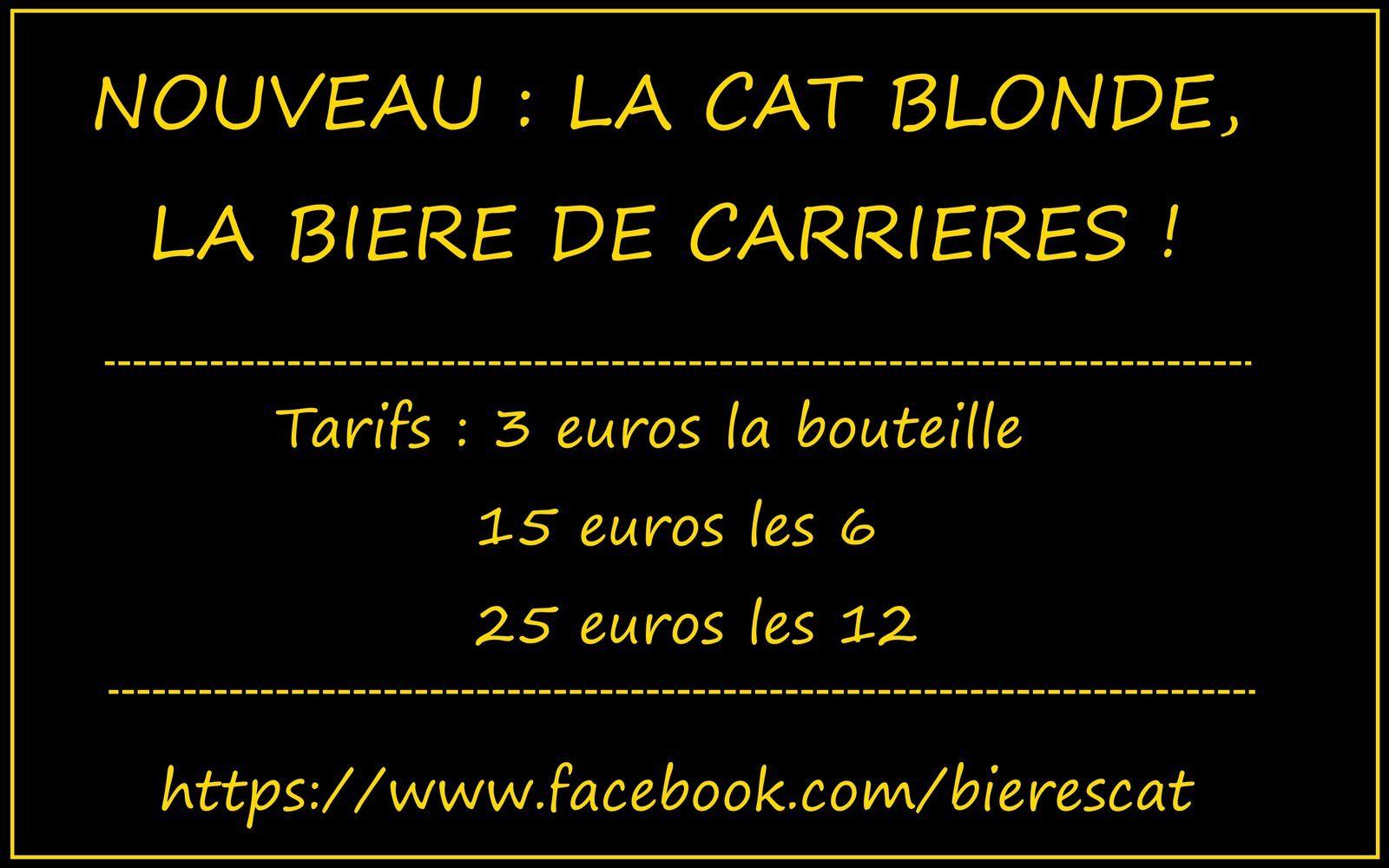 Pour la fête des pères achetez de la &quot&#x3B;Cat&quot&#x3B; sur votre marché à Carrières !