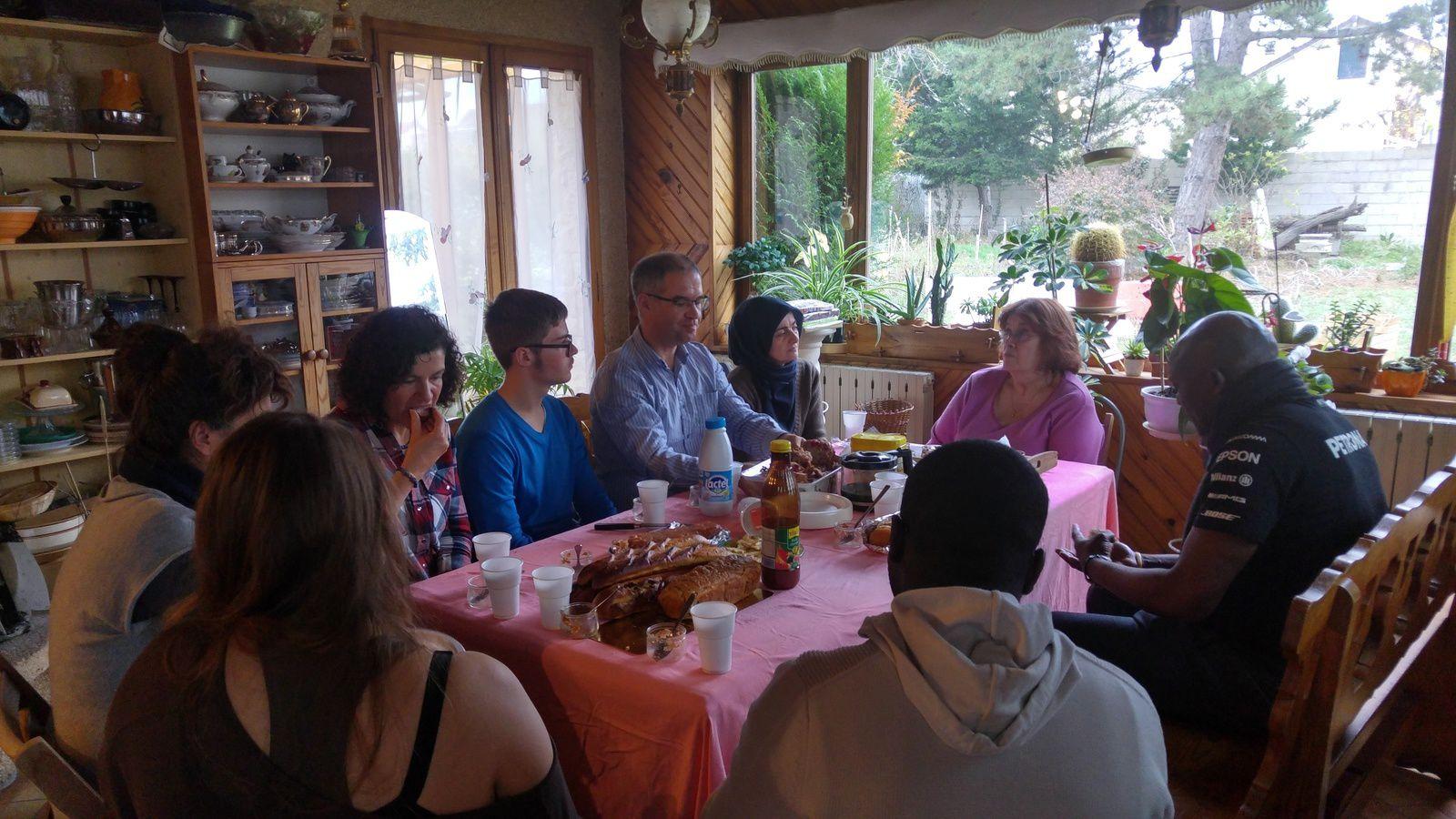 Rencontre à Carrières-sous-poissy avec des internautes de donnons.org !